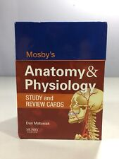 Mosby's Anatomy & Physiology Study And Review Cards Dan Matusiak Box