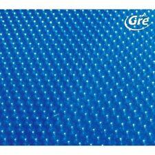 COPERTURA ISOTERMICA A BOLLE GRE GALLEGGIANTE PER PISCINA OVALE CM 610 X 375 CM