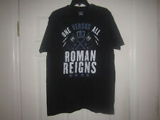 ADULT WWE ROMAN REIGNS T SHIRT WRESTLING TEE RIPPLE JUNCTION THE SHIELD LARGE