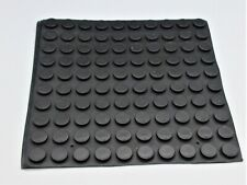 """Lot of 100 Feet - 3/8"""" Small Rubber Feet. 3M Adhesive Backing. 1/8 Tall."""