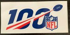 FOOTBALL 100TH YEAR ANNIVERSARY DECAL VINYL STICKER NFL FOOTBALL 1920 - 2019