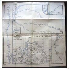1886 Wissmann  GRENFELL  Tappenbeckk  CONGO  Kasai river  SLAVE TRADE  Map -10