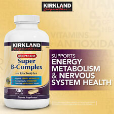 Kirkland Signature Super B-Complex with Electrolytes 500 ct ENERGY METABOLISM