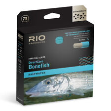 RIO DIRECTCORE BONEFISH SALTWATER WF-8-F #8 WEIGHT FLY LINE IN SAND/ORG/BLUE