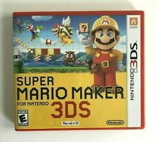 Super Mario Maker (Nintendo 3DS, 2016) Complete with Manual - Tested and Working