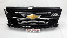84270791 2015 2016 Chevrolet Colorado OEM Grille Painted Black NEW - GBA - 8555