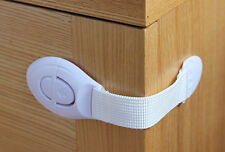 10pcs lot Cabinet Door Drawers Refrigerator Toilet Safety Plastic Lock For Child
