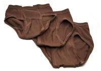 BVD Mens Briefs Underwear US Army Military 3 Pack 100% Cotton Union