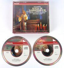 LUCIA DI LAMMERMOOR - DONIZETTI - CABALLE-CARRERAS-RAMEY - 2CD - PHILIPS