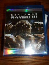 STALLONE RAMBO III - BLU-RAY DISC - VERY GOOD CONDITION!!