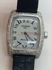 Reloj de cuarzo LOCMAN Italy Sport Aluminio Diamante Bisel Ref. 488 señoras