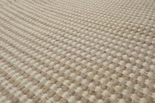 11' x 11' Hand Woven 100% Wool Square thick Flatweave Area Rug 11x11 Beige Tan