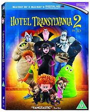 Hotel Transylvania 2 in 3D [Blu-ray] [2015] Adam Sandler New Sealed