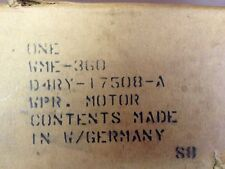 WME360 Ford Wiper Motor Wischermotor Vor Made In Germany D4RY17508A 74EB17B571CA