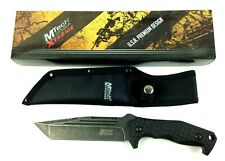 """MTech USA XTREME MX-8113 FIXED BLADE KNIFE 11.25"""" OVERALL Stone Wash Tanto Blade"""