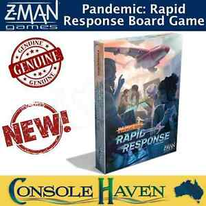 Pandemic: Rapid Response (2 to 4 Player Board Game) Z-Man Games BRAND NEW