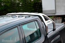 To Fit 2010 - 2016 VW Volkswagen Amarok Steel Sport Rollbar Roll Bar + LEDs
