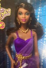 Mattel Barbie 2013~S.I.S So In Style~Grace In Purple Prom Fashion~nrfb
