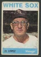 1964 Topps #232 Al Lopez GVG White Sox MG 25879