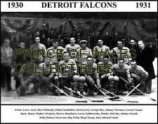 1931 DETROIT FALCONS TEAM PHOTO 8X10
