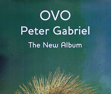GENESIS PETER GABRIEL 2000 OVO BEAUTIFUL PROMO POSTER ORIGINAL