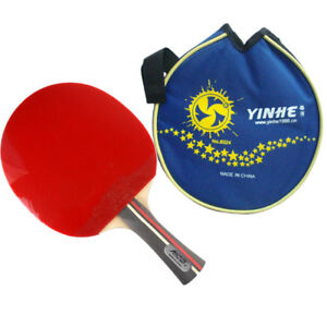 Table Tennis Bat Professional Pro Pingpong Racket Paddle & Case ITTF Approved