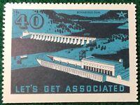 #40 Bonneville Dam - Let's Get Associated - Flying A Gas & Oil Company