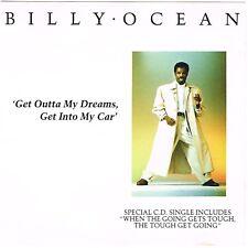 BILLY OCEAN ~ Get Outta My Dreams, Get Into My Car (USA Special cd single, 1988)