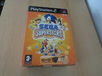 Sega SuperStars including eye toy Sony PlayStation 2, ps2 new sealed pal