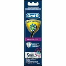 ORAL-B CROSSACTION BACTERIA GUARD BRISTLES REPLACEMENT BRUSH HEADS - 3