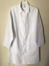 Lot Of 2 Prosura Long White Medical Lab Coat Inside Pockets Sz Medium NWOT