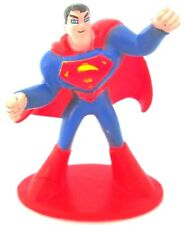 SUPERMAN DC Comics PVC TOY FIGURE Birthday Party Favor FIGURINE Justice League!