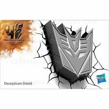 Transformers Decepticons Shield Wall LED Night Light Gift Toy Birthday Lamp