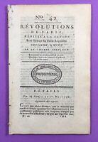Pascal Paoli à Paris 1790 Corse Aiguerande Vannes Bastille Révolution Française