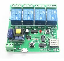 AC 220V WiFi Wireless Switch Relay Delay Module 4-way control for Smart Home K0