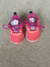 Baby toddlers girls adidas trainers shoes size 4 infant.