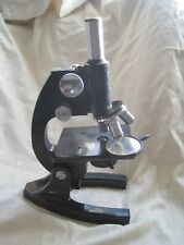 FULLY WORKING Rare MICROSCOPE for BIOLOGIST by BAUSCH and LOMB Vintage QUALITY