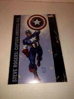 Captain America Steve Rogers #11B Jusko Variant VF 2017