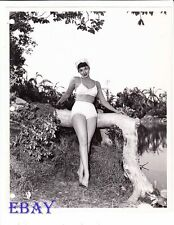 Christine Larsen busty leggy VINTAGE Photo Valley Of The Headhunters