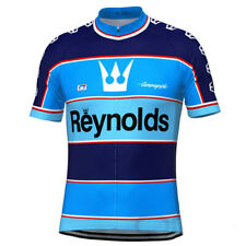 Retro 1982 Reynolds Campagnolo Cycling Jersey Short Sleeve