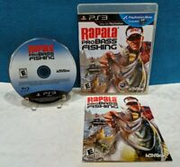 Rapala Pro Bass Fishing (Sony PlayStation 2, 2010) Complete - Tested & Works