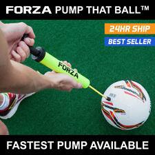 FORZA Pump That Ball™ + FOOTBALL | THE FASTEST BALL PUMP - DUAL ACTION