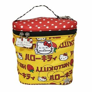 Jujube Hello Kitty Strawberry Stripes Fuel Cell Lunch Bag JU JU BE
