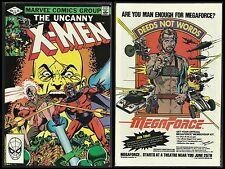 UNCANNY X-MEN #161 NM(Marvel 1982)MAGNETO & PROFESSOR X vs BARON STRUCKER in WW2