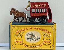 Matchbox Lesney Models Of Yesteryear Y12-1 1889 London Horse Drawn Bus, Issue 1