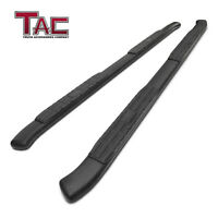 """For 2005-2021 Frontier Crew Cab 4.25"""" Texture Side Steps Nerf Bars Running Board"""