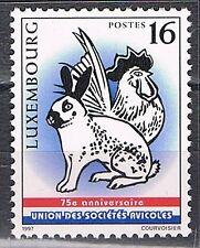 Luxemburg 1997 1421 Konijn en haan