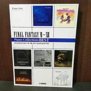 FINAL FANTASY VII~XIII PIANO COLLECTIONS BEST SCORE MUSIC BOOK NEW