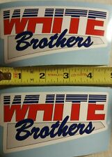 Vintage Motocross White Brothers decal sticker  YZ CR RM  KX 125 250 400 490 500