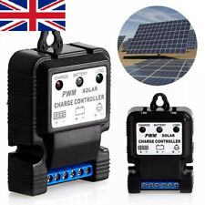 Solar Panel Battery Regulator Charge Controller PWM 6V 12V 10A Safe